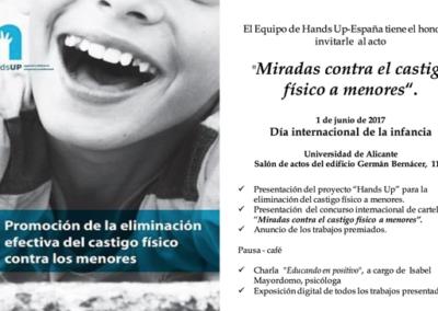 Eliminación efectiva contra el castigo físico en menores